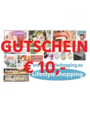 GUTSCHEIN LifestyleSHOPPING € 10,-